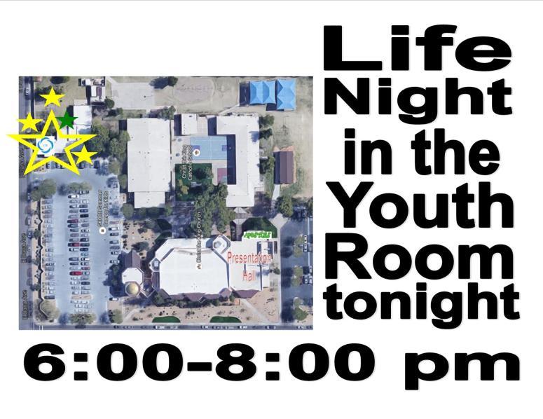 Tonights Life Night meets...